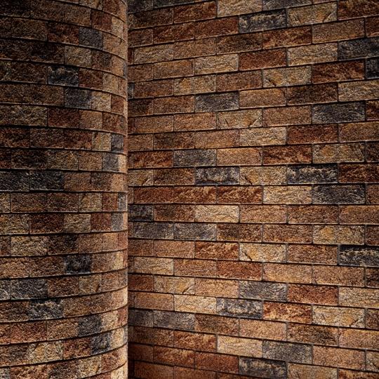 chocofur blender 3D model Brick Brick Simple 09