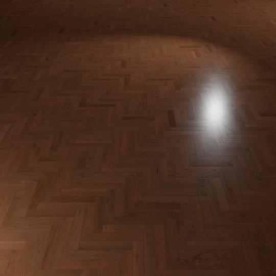 chocofur blender 3D model Wood Flooring Wood Flooring 32 Cherry