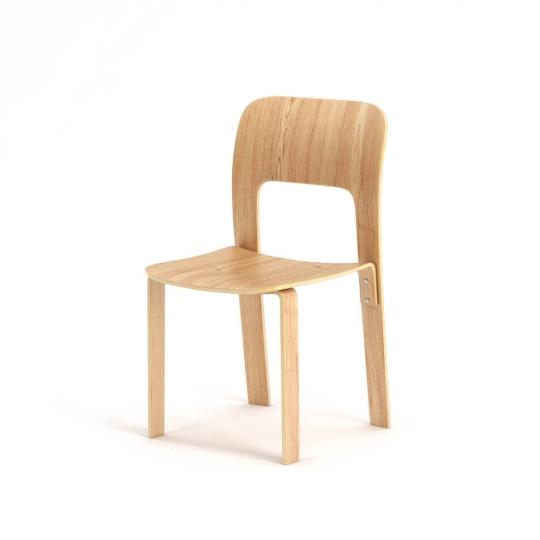 chocofur blender 3D model Chairs Wood 08