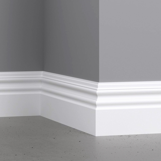 chocofur blender 3D model Skirting Skirting 04