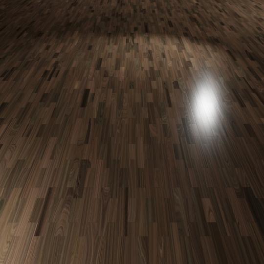 chocofur blender 3D model Wood Flooring Wood Flooring 05 Walnut