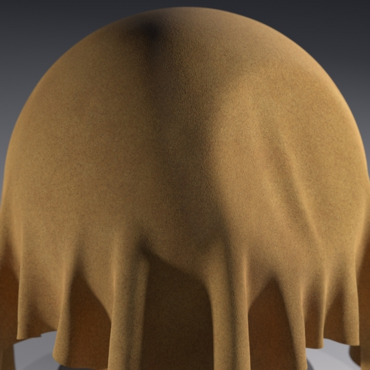 chocofur blender 3D model Leather Chocofur Leather Suede 02
