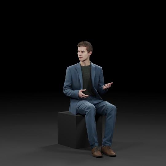 chocofur blender 3D model Business Humano Business 14
