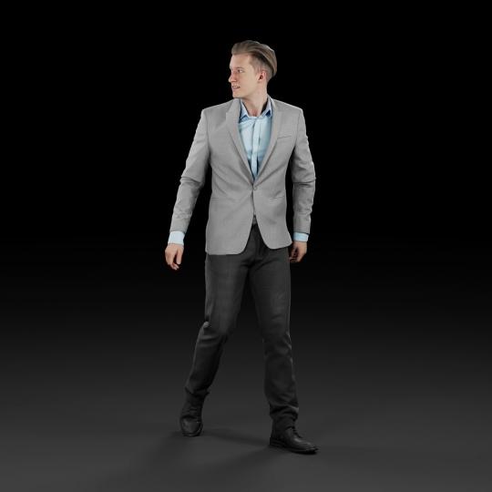 chocofur blender 3D model Diverse Humano Diverse 16