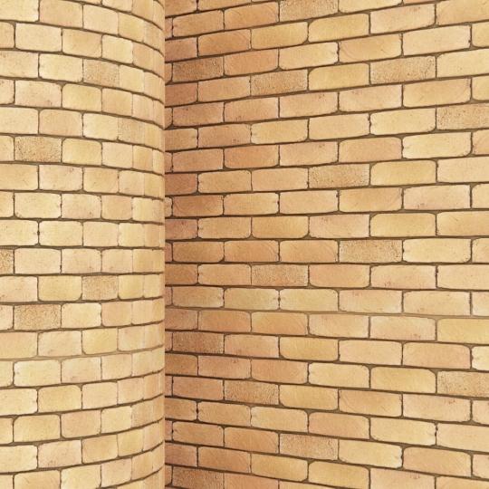 chocofur blender 3D model Brick Brick Simple 12