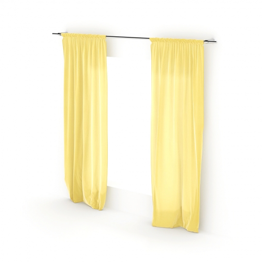 chocofur blender 3D model Curtains Curtain_08