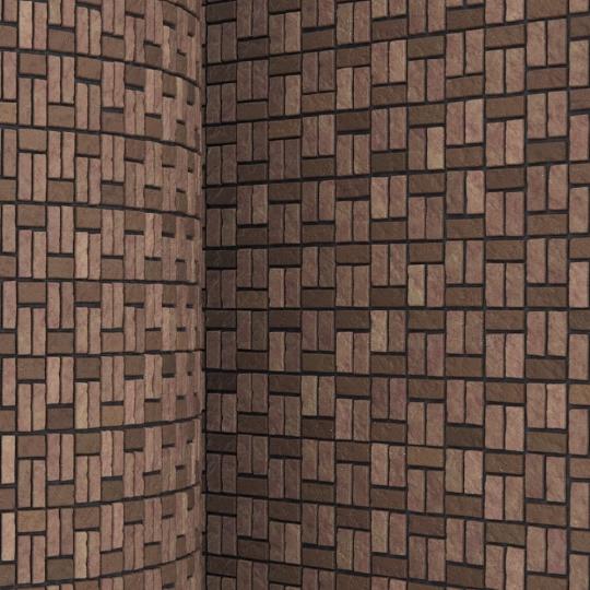 chocofur blender 3D model Brick Brick Pattern 07