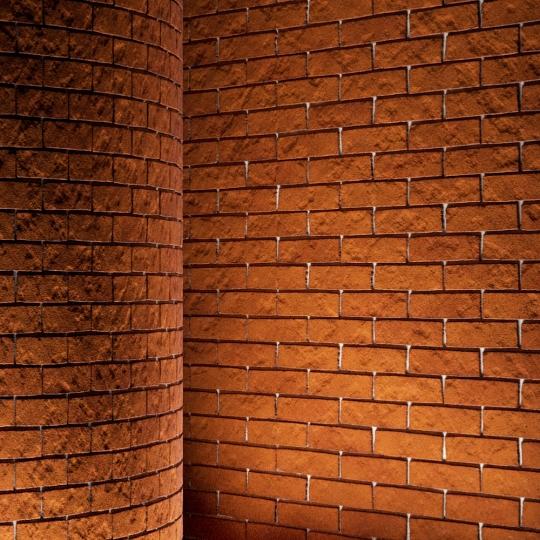 chocofur blender 3D model Brick Brick Simple 04