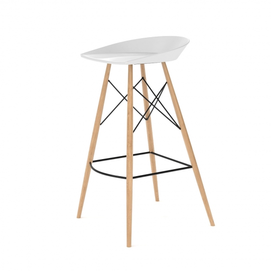 chocofur blender 3D model Stools Wood 41