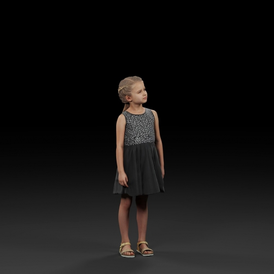 chocofur blender 3D model Diverse Humano Diverse 06