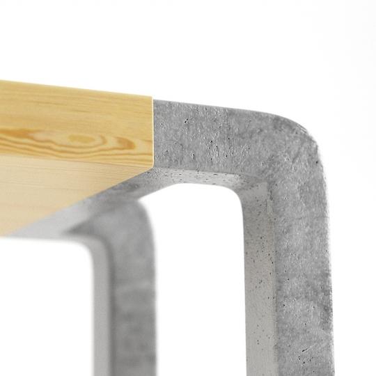 chocofur blender 3D model Benches Free 10 Concrete