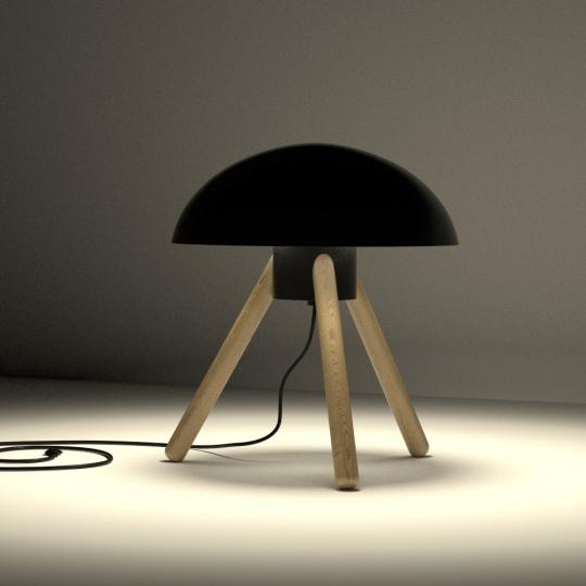 chocofur blender 3D model Lamps Light 35