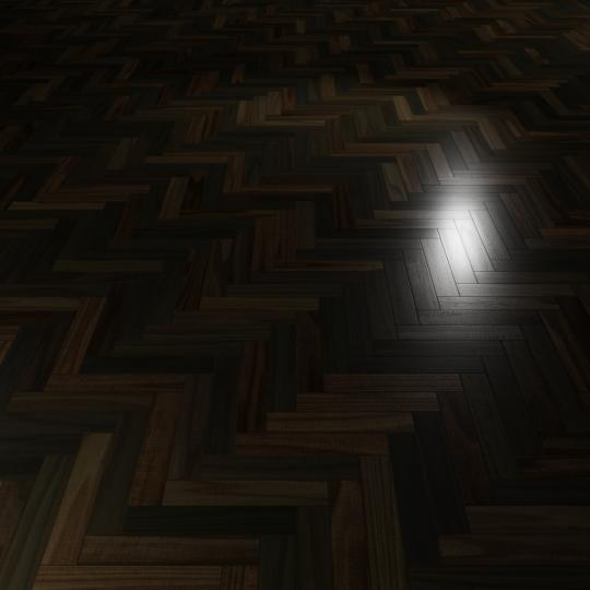 chocofur blender 3D model Wood Flooring Wood Flooring 24 Ebony
