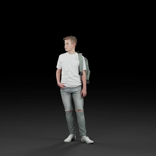 chocofur blender 3D model Diverse Humano Diverse 11