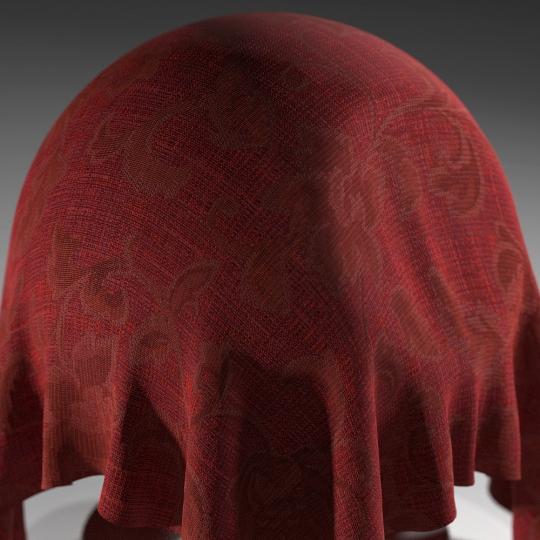 chocofur blender 3D model Fabric Chocofur Fabric Patterned 04