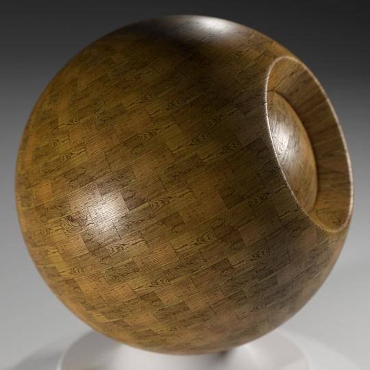 chocofur blender 3D model Wood Chocofur Wood Simple 10