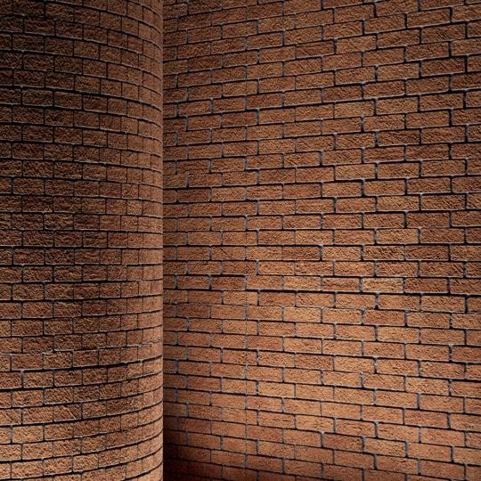 chocofur blender 3D model Brick Brick Simple 03