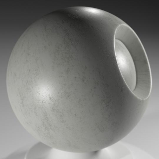 chocofur blender 3D model Concrete Chocofur Concrete Solid 05