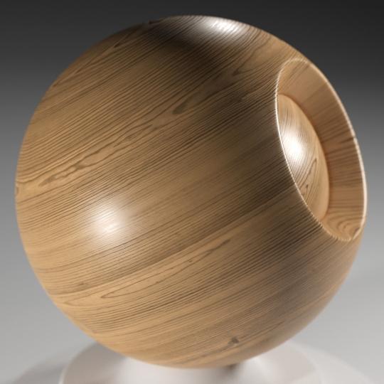 chocofur blender 3D model Wood Chocofur Wood Solid 02