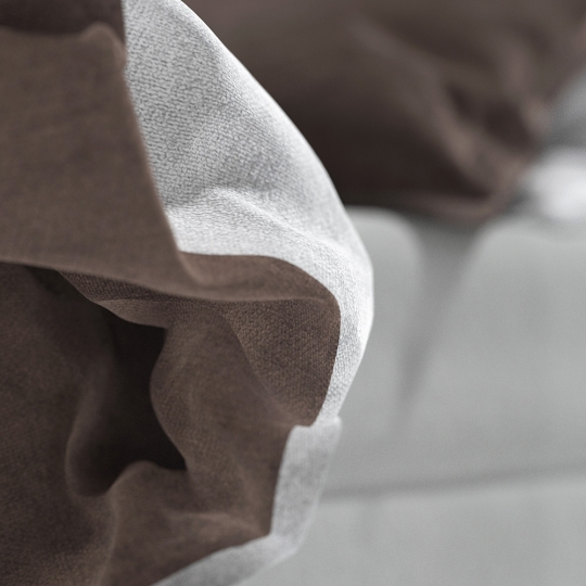 chocofur blender 3D model Beds Bed 05