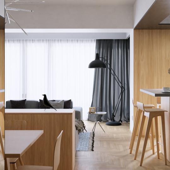chocofur blender 3D model Interiors Interior Scene 06