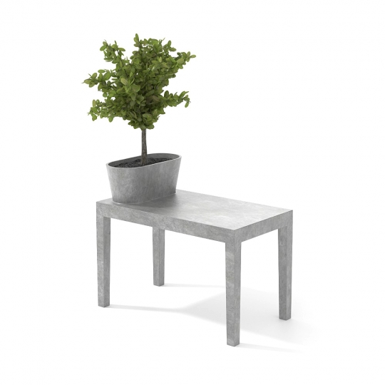 chocofur blender 3D model Benches Concrete 42