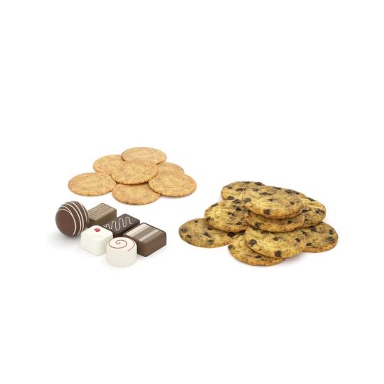 chocofur blender 3D model food Food 21