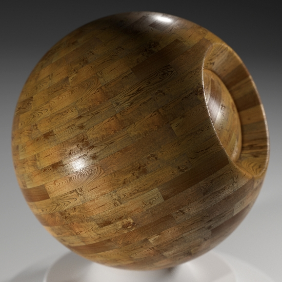 chocofur blender 3D model Wood Chocofur Wood Simple 01