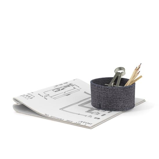 chocofur blender 3D model Office Office 14