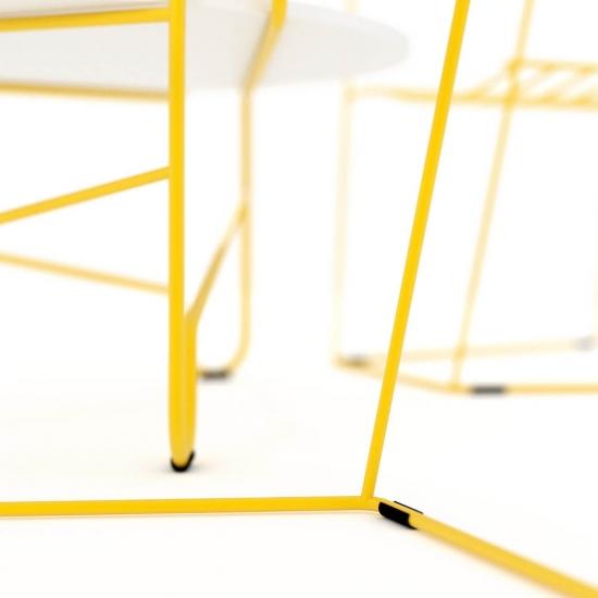 chocofur blender 3D model Tables Steel 19