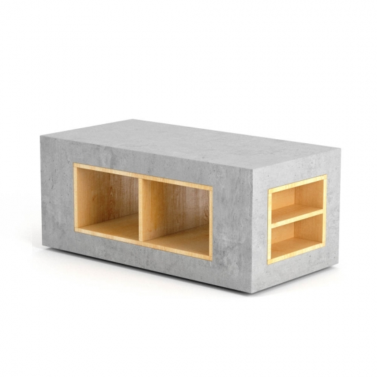 chocofur blender 3D model Sideboards Concrete 11