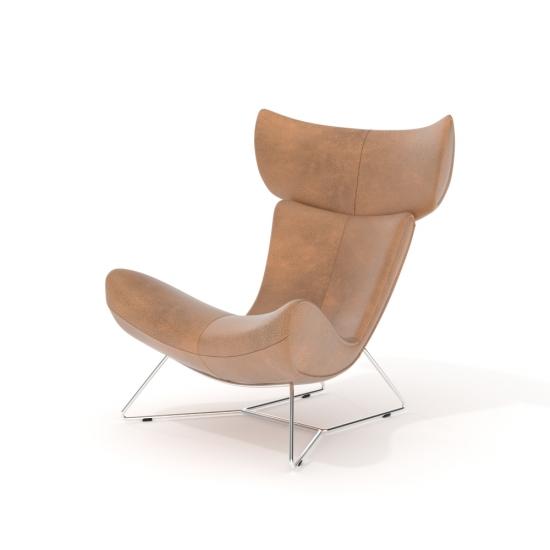 chocofur blender 3D model Lounge Fabrics 22