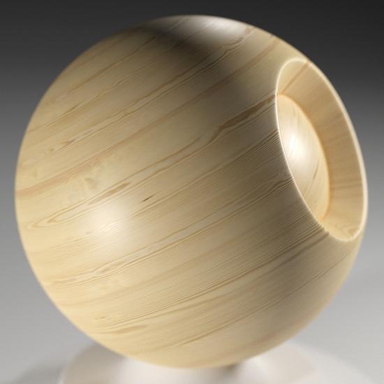 chocofur blender 3D model Wood Chocofur Wood Solid 01
