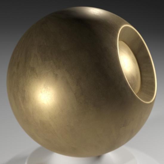 chocofur blender 3D model Metal Chocofur Metal Solid 02