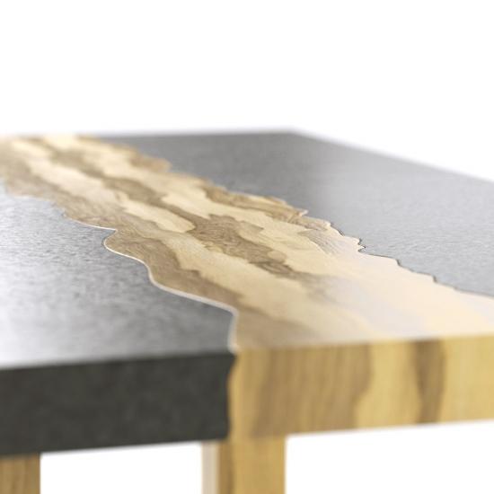 chocofur blender 3D model Tables Concrete 46