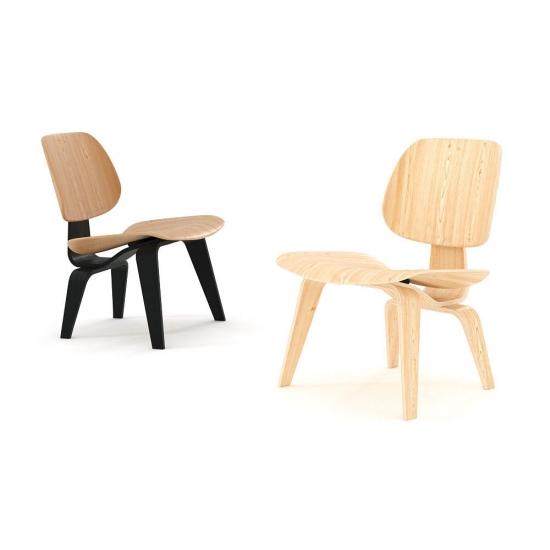 chocofur blender 3D model Lounge Wood 16