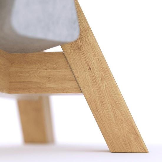 chocofur blender 3D model Stools Concrete 36