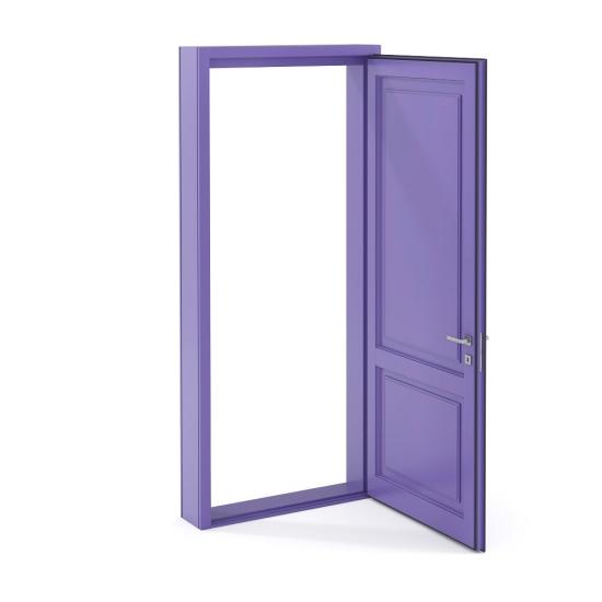 chocofur blender 3D model Doors Door 01
