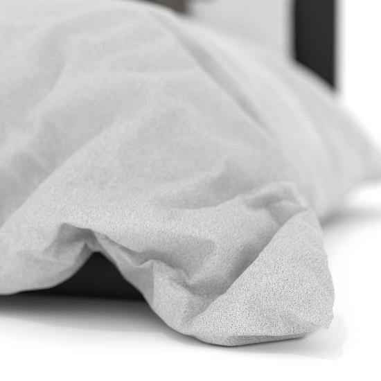 chocofur blender 3D model Beds Bed 09