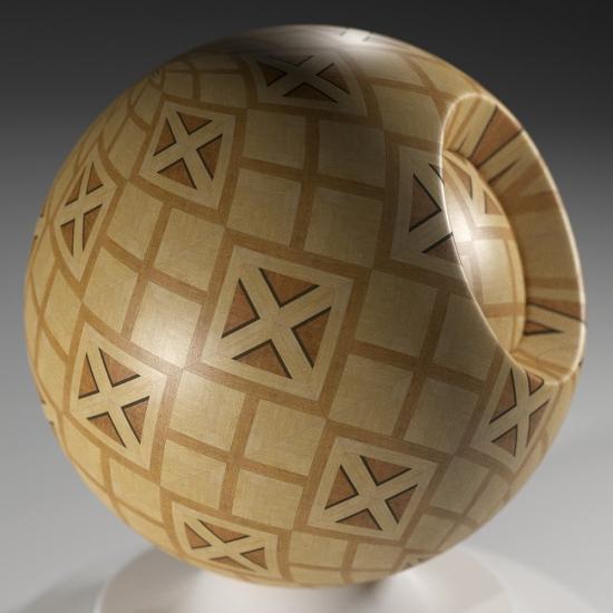 chocofur blender 3D model Wood Chocofur Wood Patterned 02