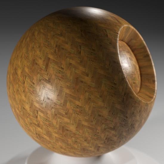 chocofur blender 3D model Wood Chocofur Wood Patterned 18