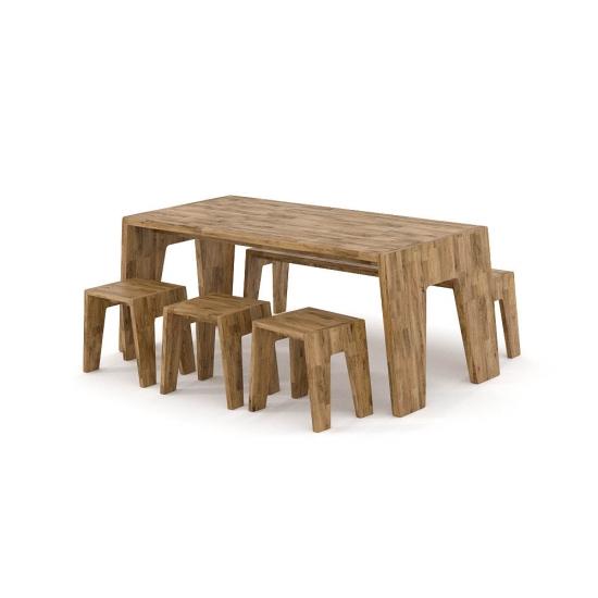 chocofur blender 3D model Tables Wood 15