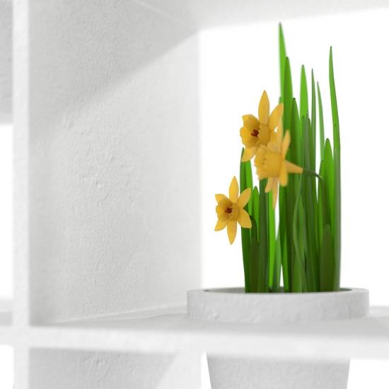 chocofur blender 3D model Storage Concrete 23