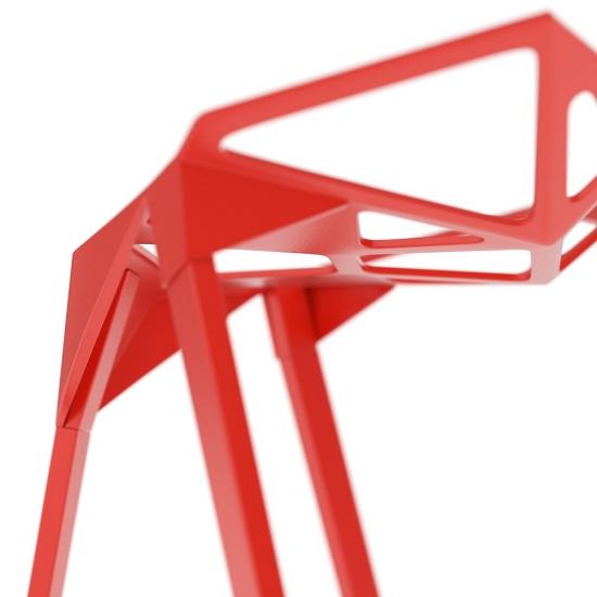 chocofur blender 3D model Stools Steel 38