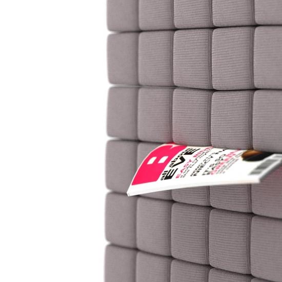 chocofur blender 3D model Lounge Fabrics 04