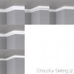 chocofur blender 3D model Skirting Skirting 12