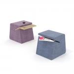 chocofur blender 3D model Stools Fabrics 02