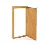 chocofur blender 3D model Doors Door 04
