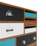 chocofur blender 3D model Sideboards Wood 34