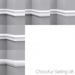 chocofur blender 3D model Skirting Skirting 08